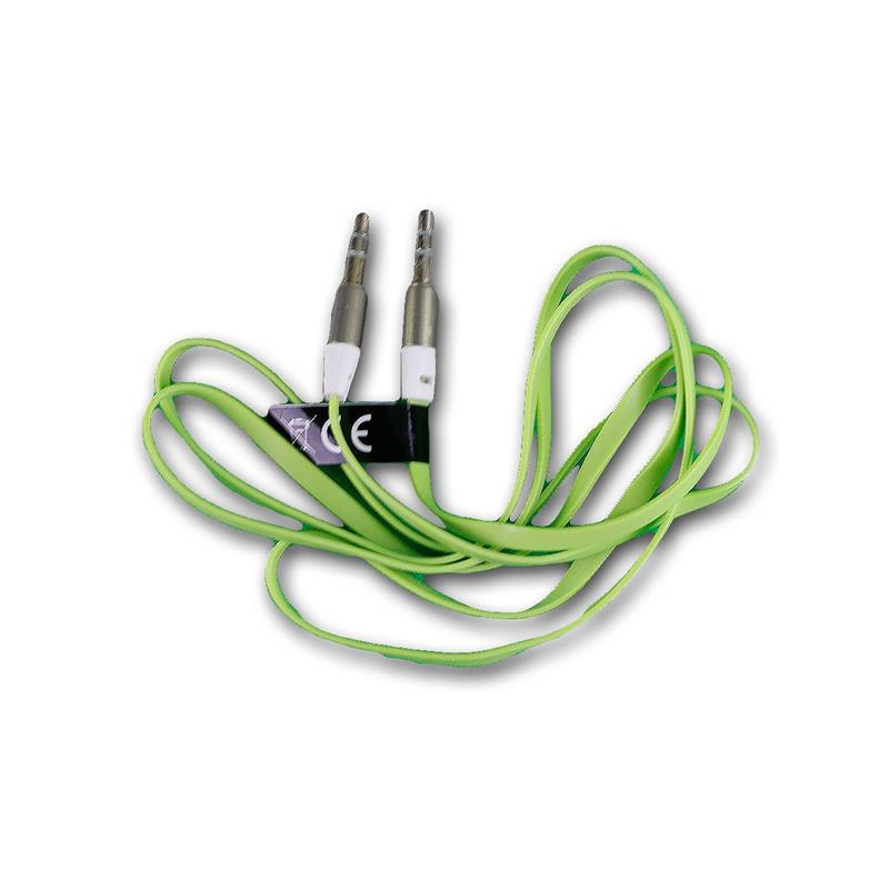 Stereo Jack a Cavo cavi audio Cavo Jack 3,5mm spina a spina verde
