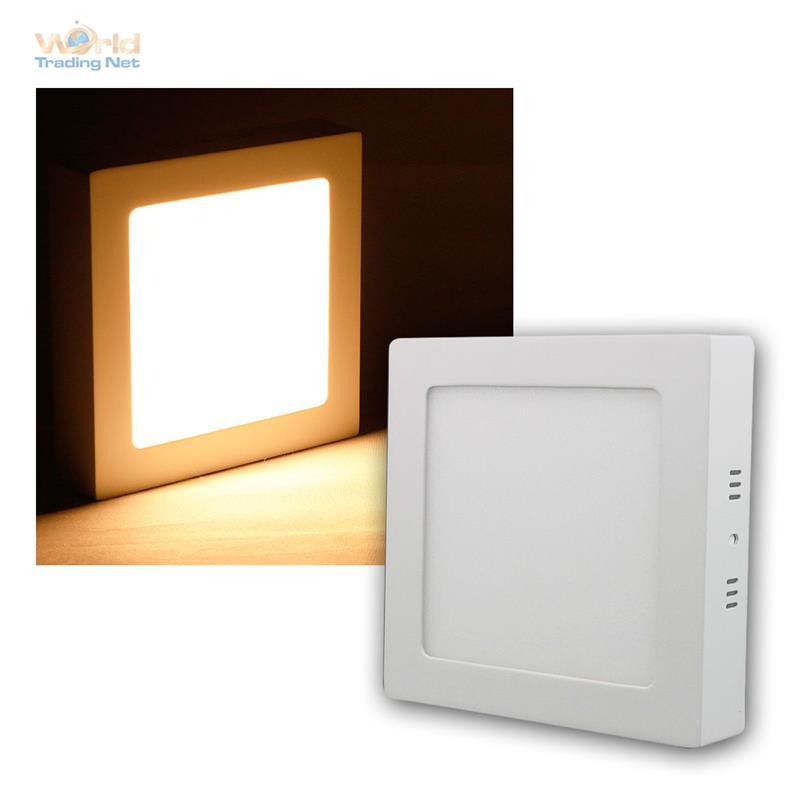 led panels rahmen wei panel warmwei 230v versch typen einbauleuchte pannel ebay. Black Bedroom Furniture Sets. Home Design Ideas