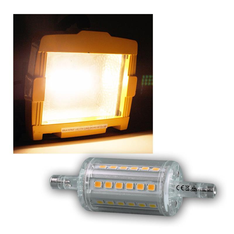 led leuchtstab r7s 360 78mm 118mm warm kalt strahler. Black Bedroom Furniture Sets. Home Design Ideas
