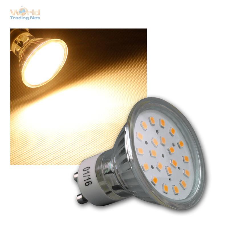strahler leuchtmittel gu10 mr16 smd led 120 warm neutral birne lampe reflektor ebay. Black Bedroom Furniture Sets. Home Design Ideas