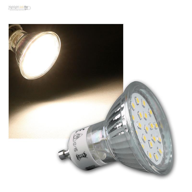 leuchtmittel gu10 mr16 smd led 120 warm neutral birne strahler lampe reflektor ebay. Black Bedroom Furniture Sets. Home Design Ideas