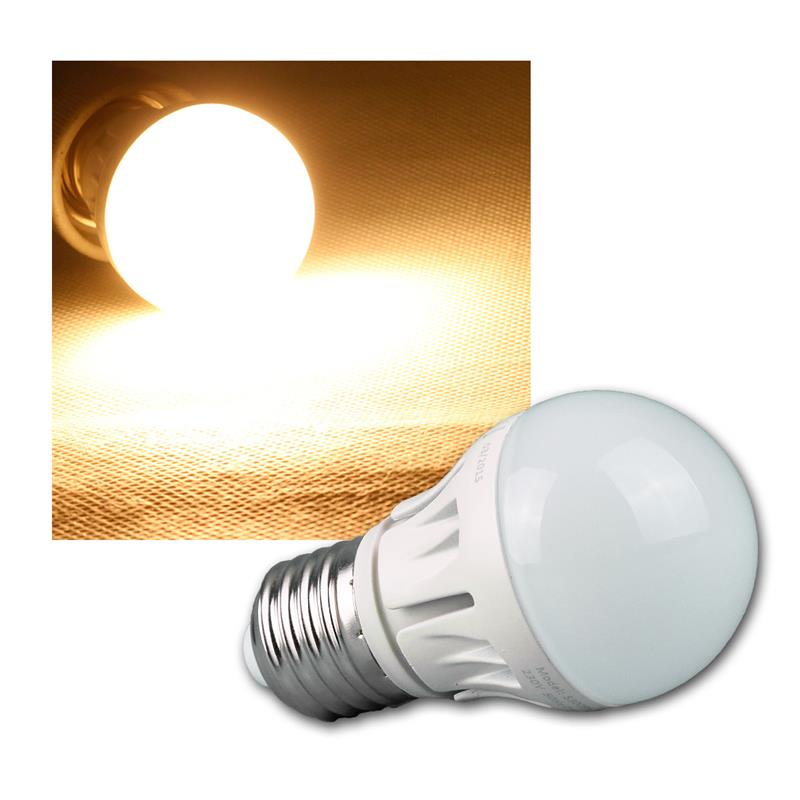 e27 e14 warmwei led 480lm dimmbar 6w 230v leuchtmittel birne gl hbirne lampe ebay. Black Bedroom Furniture Sets. Home Design Ideas