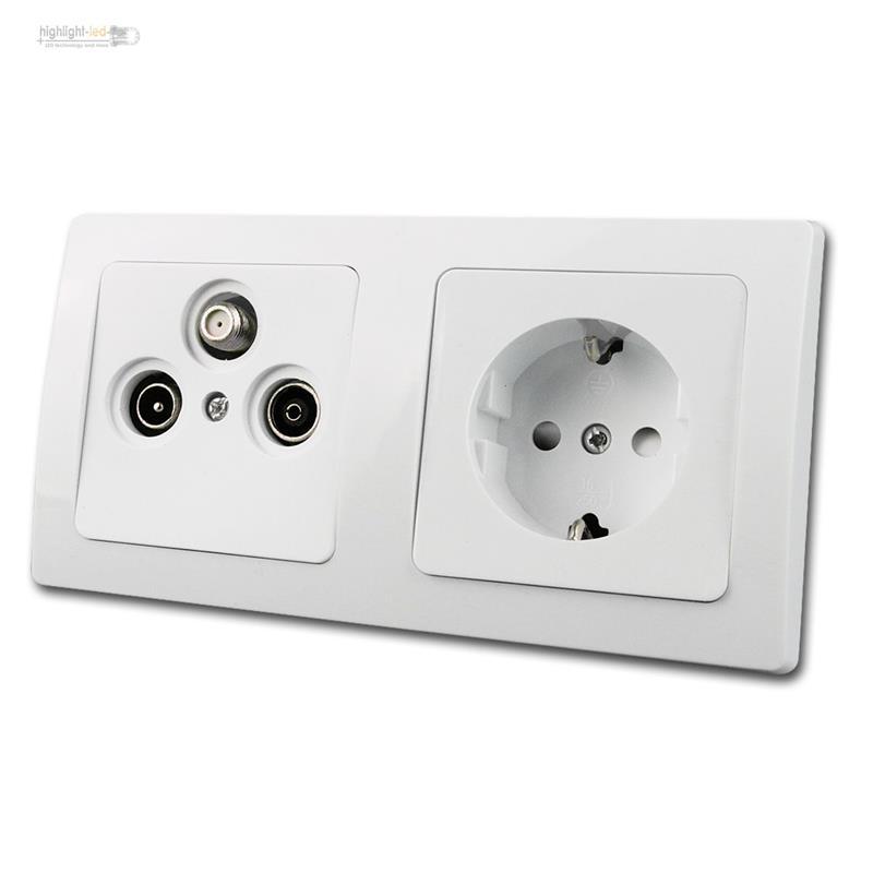 delphi prise lectrique steckkdose 230v bo tier pour. Black Bedroom Furniture Sets. Home Design Ideas