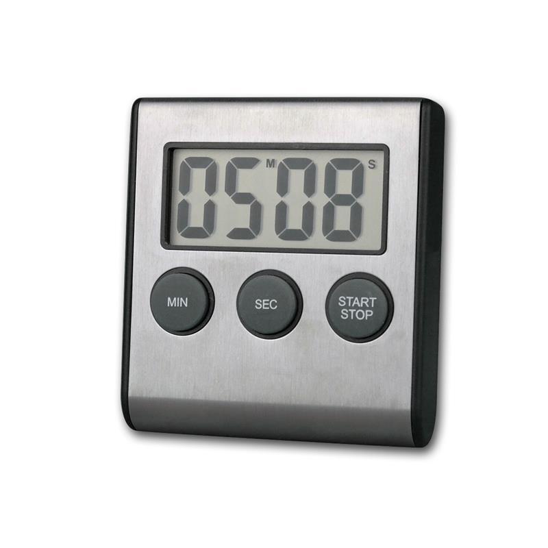Minuteur inox minuterie de cuisine compte rebours compteur chronom tre digital ebay - Minuteur 7 minutes ...