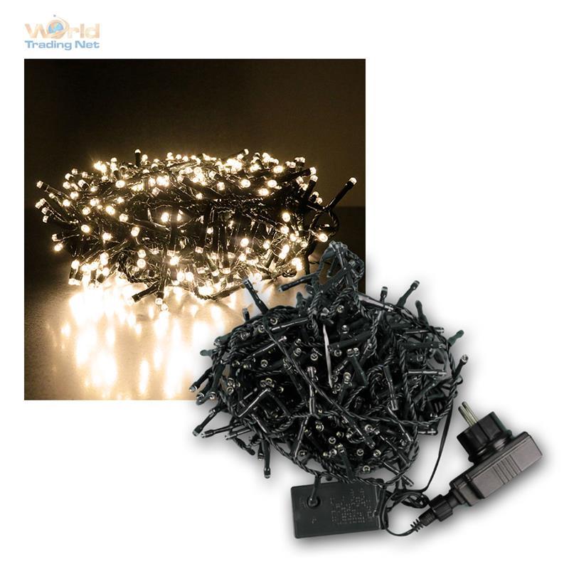 lichterkette bis 1500 led weihnachstbeleuchtung weihnachten innen au en 230v ebay. Black Bedroom Furniture Sets. Home Design Ideas