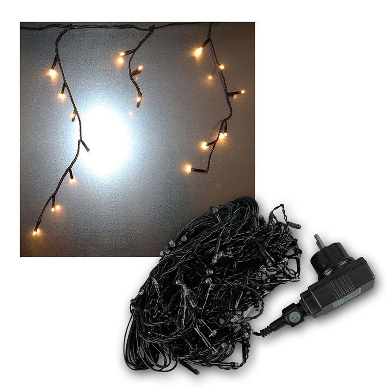 Led Ice Pellet Fairy Lights Ice Pellet Chain Lights