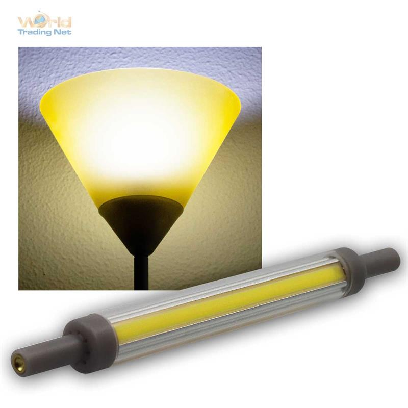Slim-Line-R7s-LED-Leuchtmittel-78-118mm-Fluter-Halogenstab-Ersatz-Leuchtstab