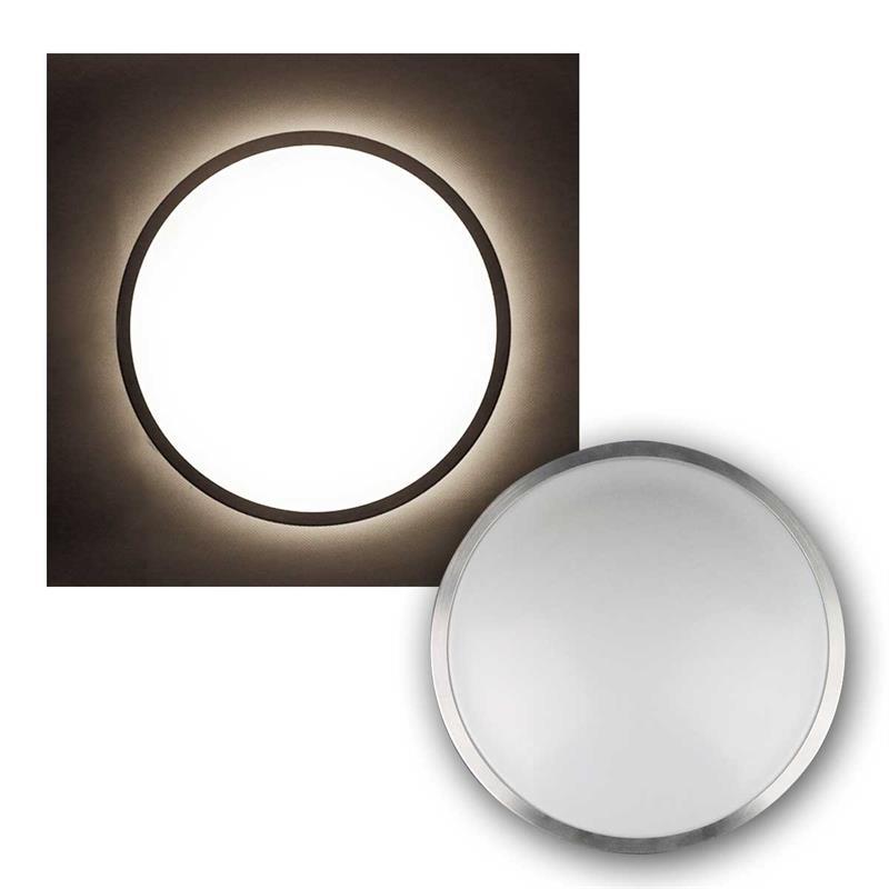 deckenleuchte acronica 12 16 20w led warmwei deckenlampe wandleuchte lampe 230v ebay. Black Bedroom Furniture Sets. Home Design Ideas