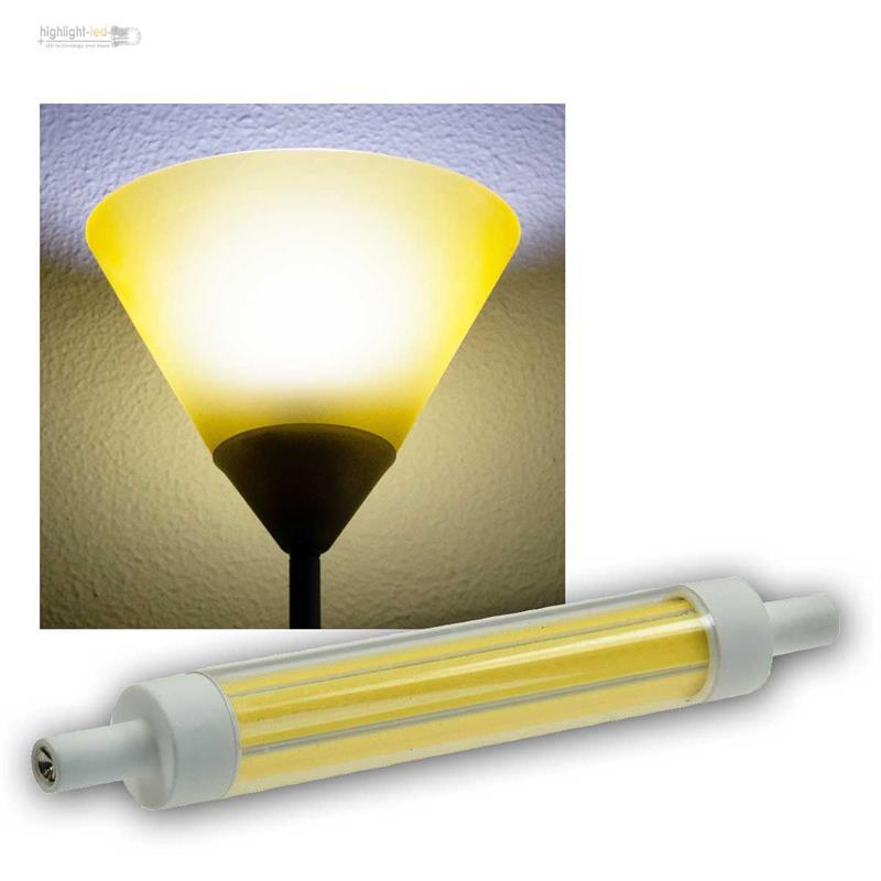 R7s lampadina led slim line 78mm 118mm riflettore alogeno for Lampadina r7s led 78mm