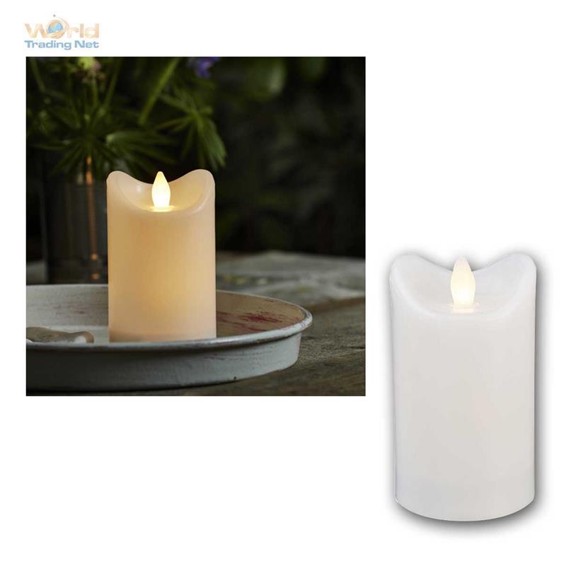 led kerze f r au en mit timer flackernde flammenlose kerzen outdoor candle ip44 ebay. Black Bedroom Furniture Sets. Home Design Ideas