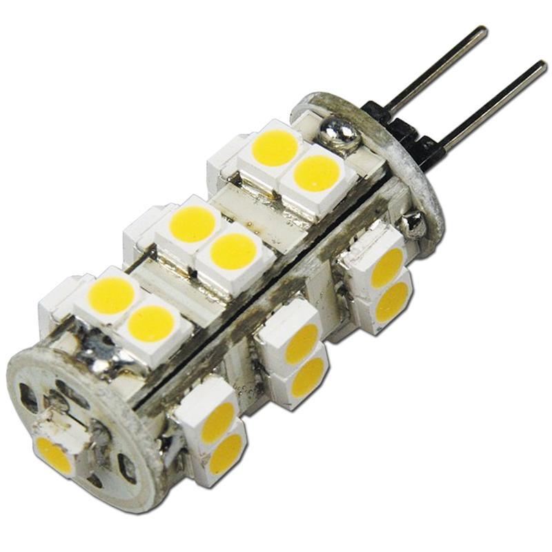 LED-Stiftsockellampe-G4-25-SMD-LEDs-neutral-warm-Birne-G-4-Leuchtmittel-12V Indexbild 11