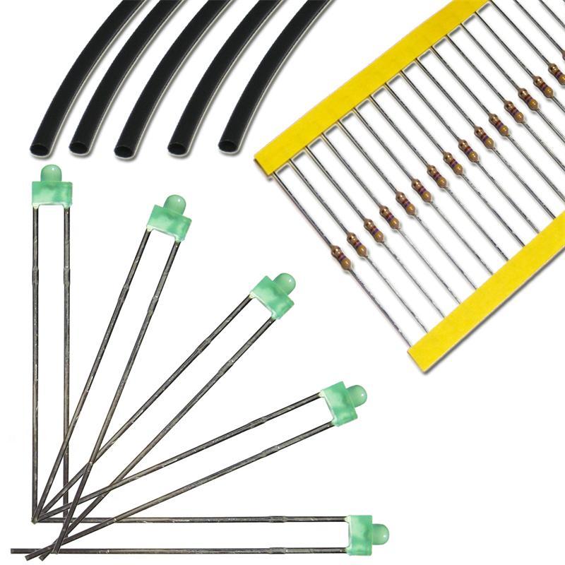 LED-1-8mm-divers-types-de-amp-couleurs-clairement-amp-diffuse-miniature-mini-LED-DIODES
