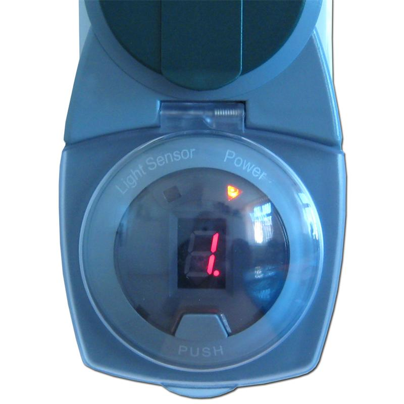 D mmerungs zeitschaltuhr f r aussen max 2300w digital ebay - Aussenschalter gartenbeleuchtung ...