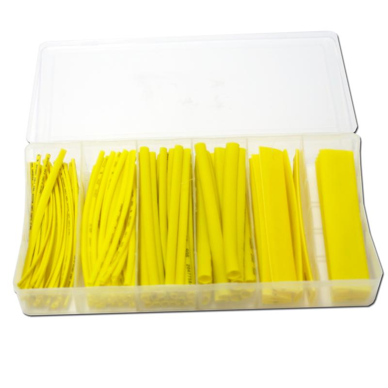 in practical plastic box 100 piece heat shrink tubing 10cm long shrinktube