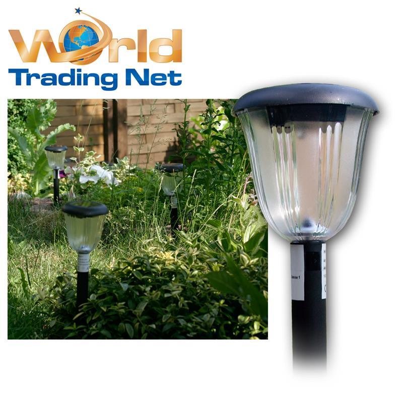 10er-SET-LED-Solarleuchten-Gartenleuchte-Leuchte-Solar