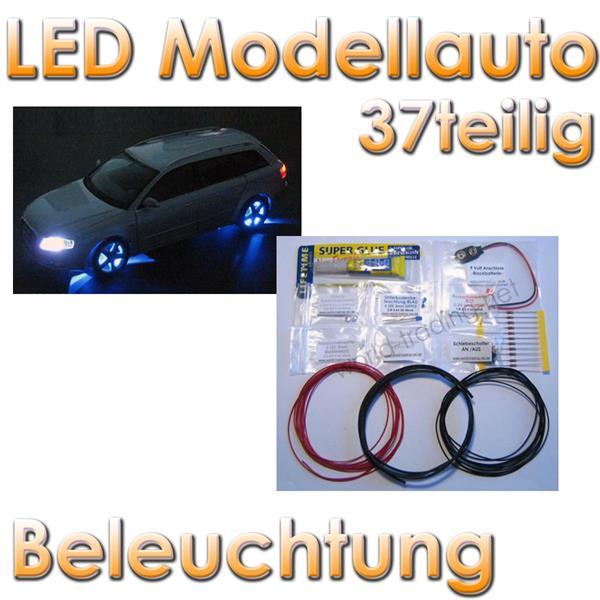 Beleuchtung Led Werkstatt : LED Modellauto Beleuchtung  37 teilig im LED Onlineshop wwwhighlight