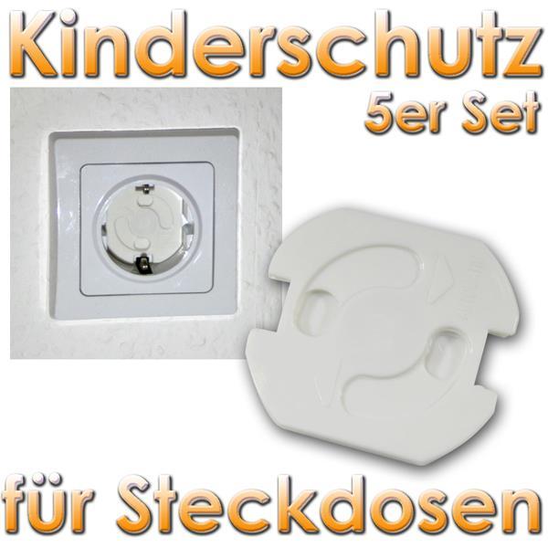 5er set kinderschutz f r steckdosen drehmechanik im led onlineshop. Black Bedroom Furniture Sets. Home Design Ideas