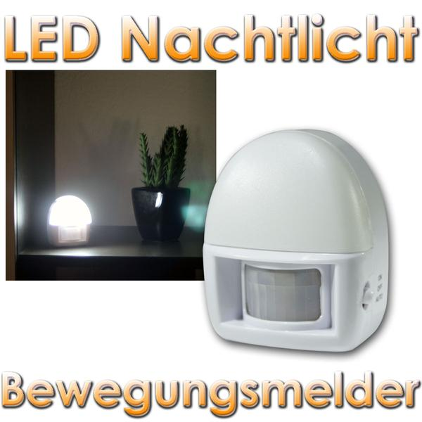 led nachtlicht bewegungsmelder batteriebetrieb im led onlineshop. Black Bedroom Furniture Sets. Home Design Ideas
