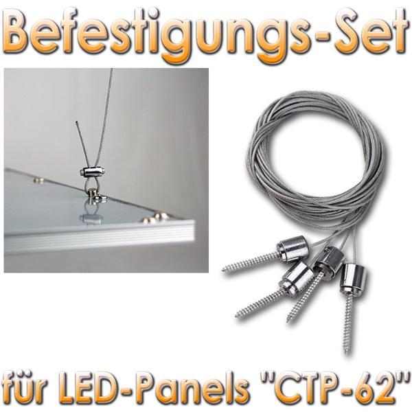 """Befestigungs-Set """"CTP-62"""" Für Abhängen Von D Decke"""