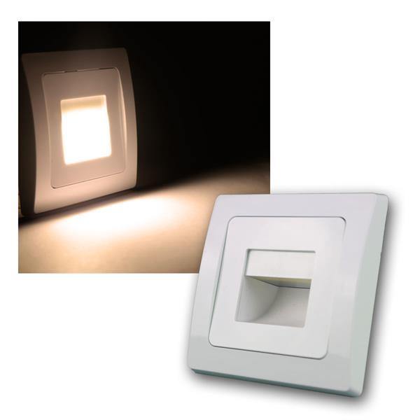 Elektro-Installationsserie DELPHI Einbauleuchte COB-LED 110lm