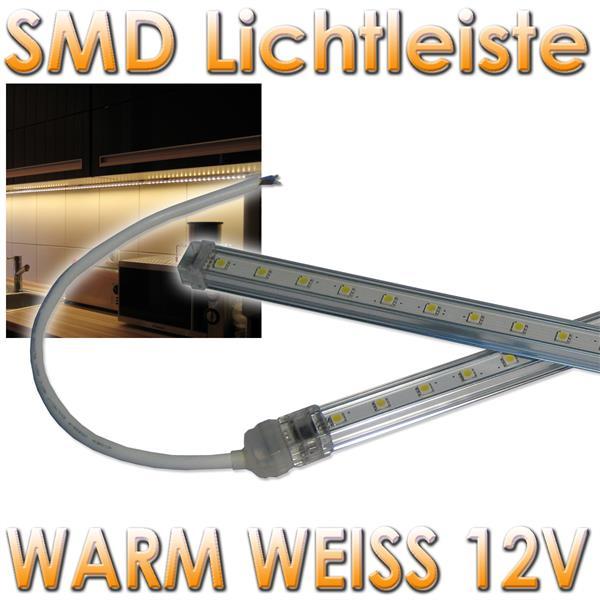 smd led lichtleiste slim warm wei 50cm 12v dc im led onlineshop. Black Bedroom Furniture Sets. Home Design Ideas