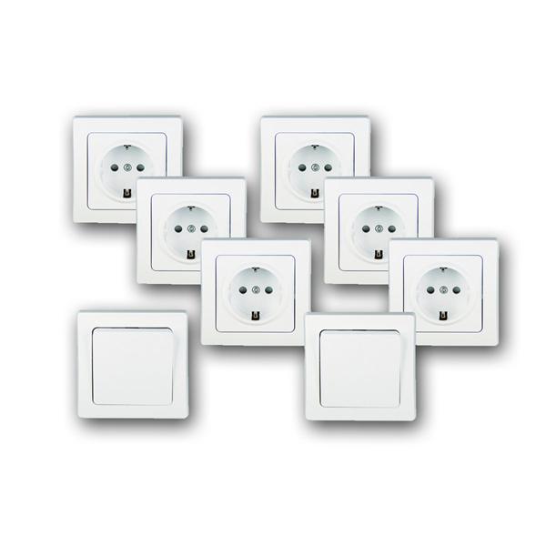Elektro-Installationsserie DELPHI Starter-Kit