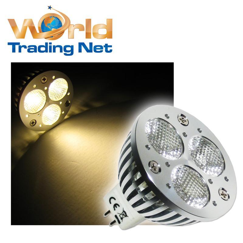 LED-STRAHLER-SPOT-MR16-WARM-WEISS-3x-1W-LEDs-Lampe-12V