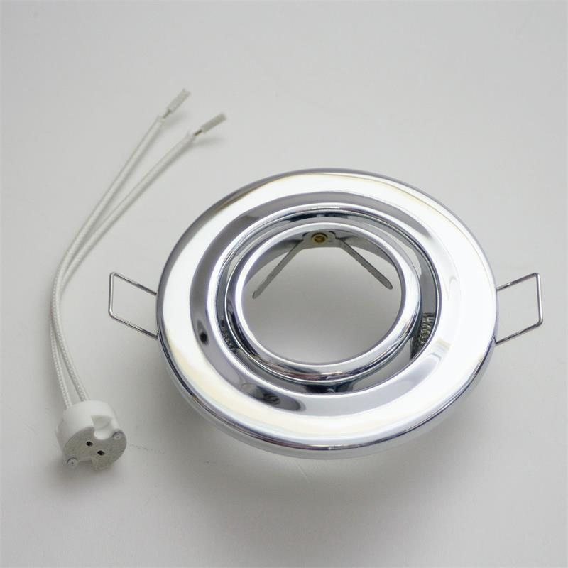 MR11 Fassung Weiß für Lampe Einbaurahmen Ø45mm Bohrloch Einbauleuchten GU4