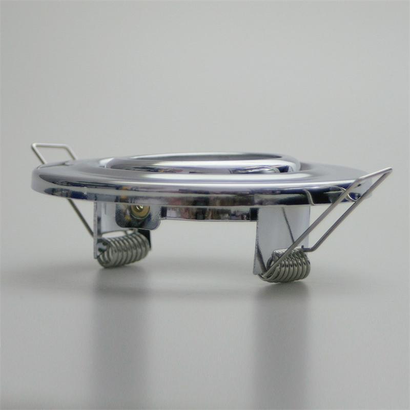 mr16 einbaurahmen einbauleuchten mit fassung einbauspot deckenstahler 12v gu5 3 ebay. Black Bedroom Furniture Sets. Home Design Ideas