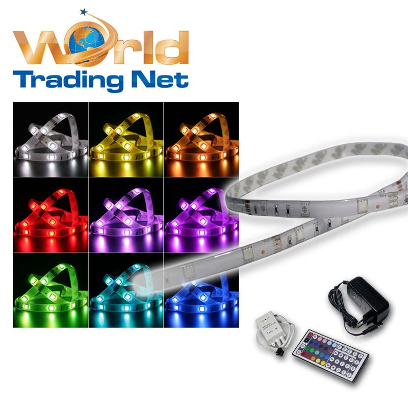 5m-FLEX-RGB-LED-Strip-mit-Netzteil-Fernbedienung-Lichtband-MULTICOLOR-STRIP