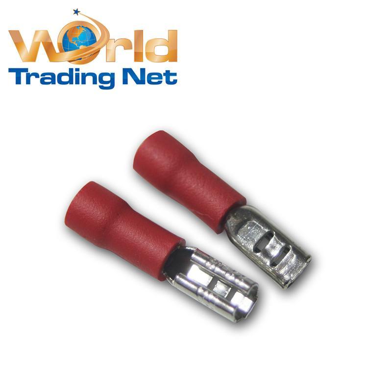 20-Kabelschuhe-Flachsteckhuelsen-rot-2-8-x-0-5mm-fuer-0-5-1-5mm-Kabelschuh-Buchse