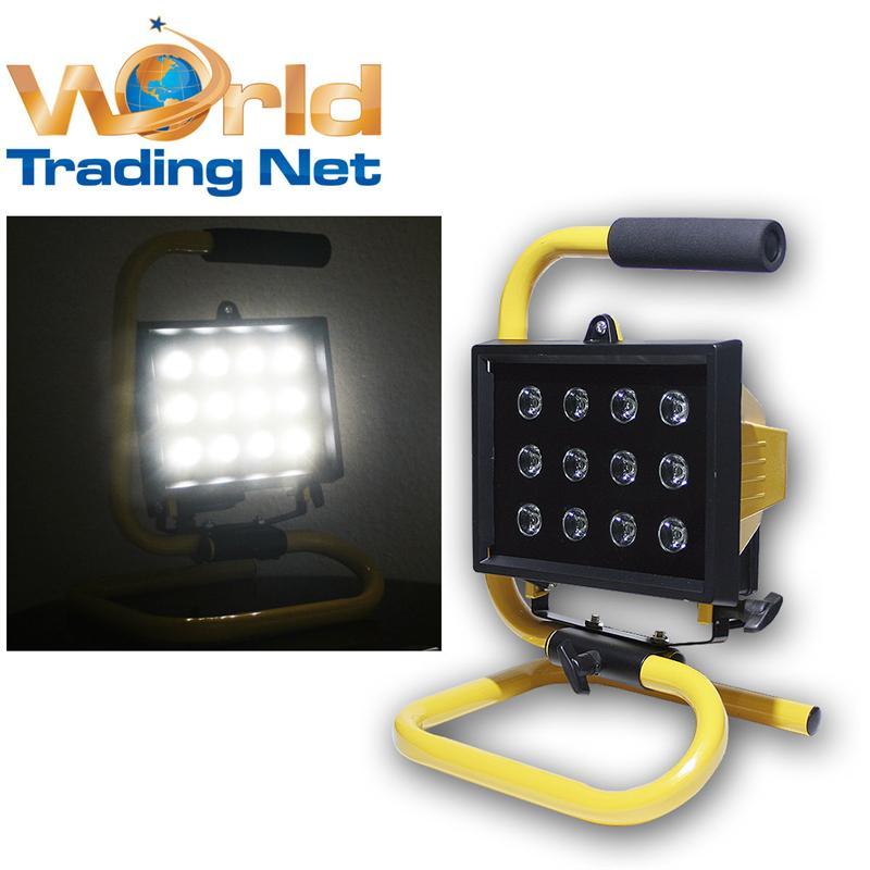 LED-Baustrahler-mit-Akku-oder-Netztstrom-12x1W-LEDs-ca-1000lm-IP44-Baulicht