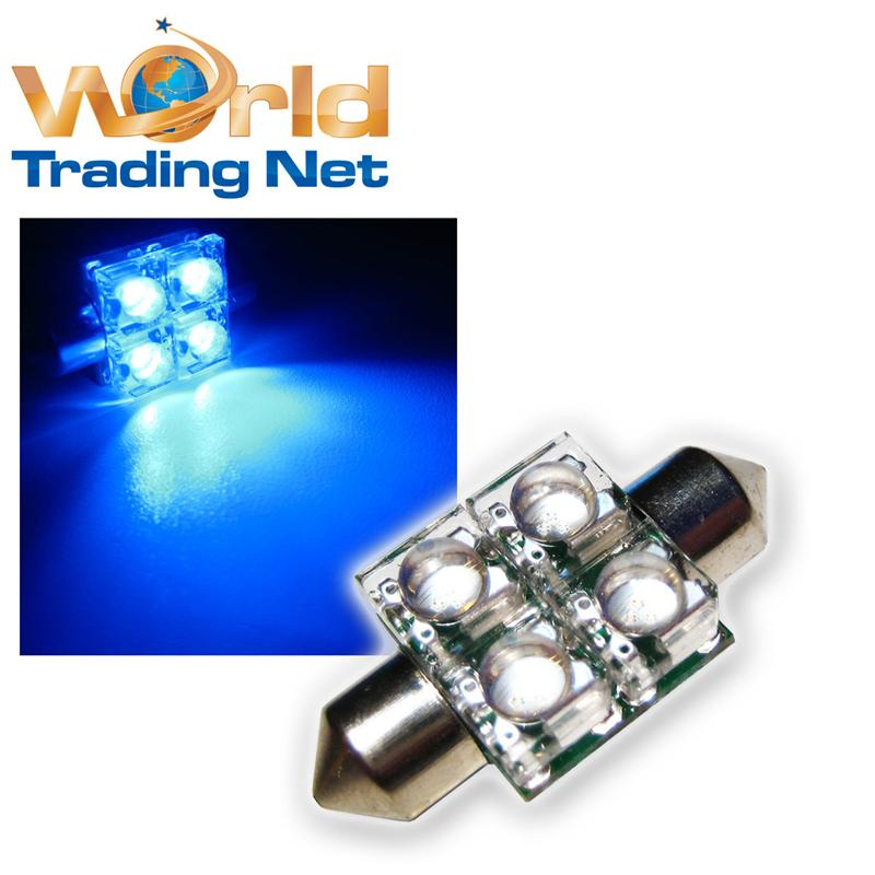 1-x-SuperFlux-LED-Soffitte-4x3-Chip-LEDs-Blau-33mm-12V