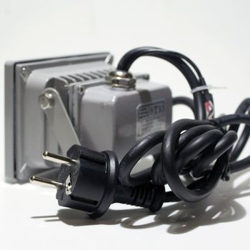 rgb led au enleuchte fluter 10w highpower mit fernbedienung 230v strahler ip65 ebay. Black Bedroom Furniture Sets. Home Design Ideas