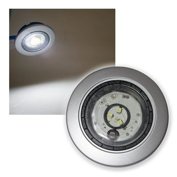 led einbaustrahler 230v mit d mmerungssensor deko einbauleuchte spot lampe ebay. Black Bedroom Furniture Sets. Home Design Ideas
