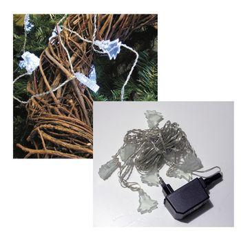 led lichterkette tannenbaum 10 leds wei weihnachtsdeko weihnachtsbeleuchtung. Black Bedroom Furniture Sets. Home Design Ideas