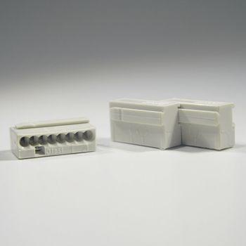 10 st ck wago micro steckklemmen 8x 0 6 0 8 mm grau verbindungsklemme klemme ebay. Black Bedroom Furniture Sets. Home Design Ideas