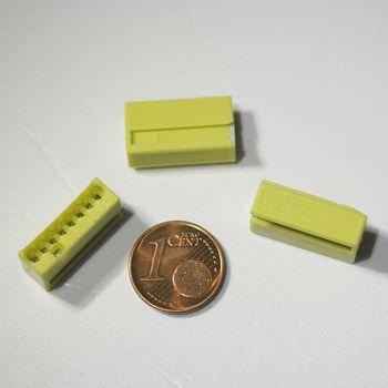 10 st ck wago micro steckklemmen 8x 0 6 0 8 mm gelb verbindungsklemme klemme ebay. Black Bedroom Furniture Sets. Home Design Ideas