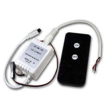 led schalter 12v 6a mit ir fernbedienung f r leuchtdioden leds ebay. Black Bedroom Furniture Sets. Home Design Ideas