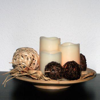 3er set led kerzen dimmbar mit fernbedienung timer wachs kerze flackernde leds ebay. Black Bedroom Furniture Sets. Home Design Ideas