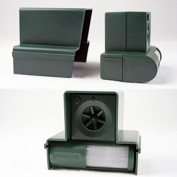 pir ultraschall hundeschreck katzenschreck tiervertreiber hundeabwehr chaser ebay. Black Bedroom Furniture Sets. Home Design Ideas