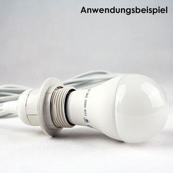kabel mit fassung lampenfassung schalter f r e27 3 5m netzkabel euro stecker ebay. Black Bedroom Furniture Sets. Home Design Ideas