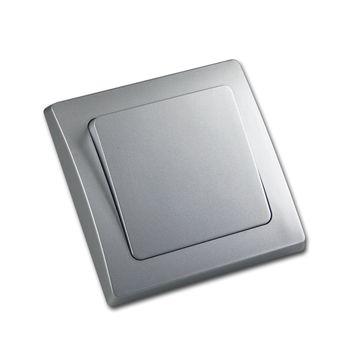 delphi wechsel schalter wechselschalter kippschalter lichtschalter silber up ebay. Black Bedroom Furniture Sets. Home Design Ideas