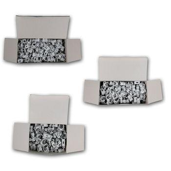 100er pack rohr klemmschellen kabelrohr rohr schellen schnappschellen m16 20 25 ebay. Black Bedroom Furniture Sets. Home Design Ideas