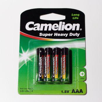 4er pack camelion zink kohle batterien micro aaa r3 lr3 um4 mn2400 batterie ebay. Black Bedroom Furniture Sets. Home Design Ideas