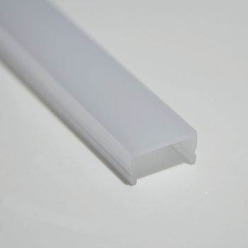 1m abdeckung f r aluminium profil opal matt nicht f r alle siehe beschreibg ebay. Black Bedroom Furniture Sets. Home Design Ideas