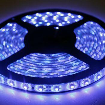 11 40 m 5m smd led lichtband blau ip65 lichtleiste leuchtband klebestreifen ebay. Black Bedroom Furniture Sets. Home Design Ideas
