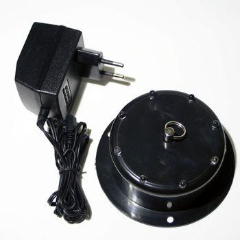 Motor F R Spiegelkugel Mit Multicolor Leds 230v Antrieb