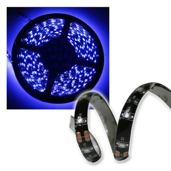 11 20 m 5m led stripe blau 12v ip44 mit 300 leds lichtband selbstklebend blue ebay. Black Bedroom Furniture Sets. Home Design Ideas