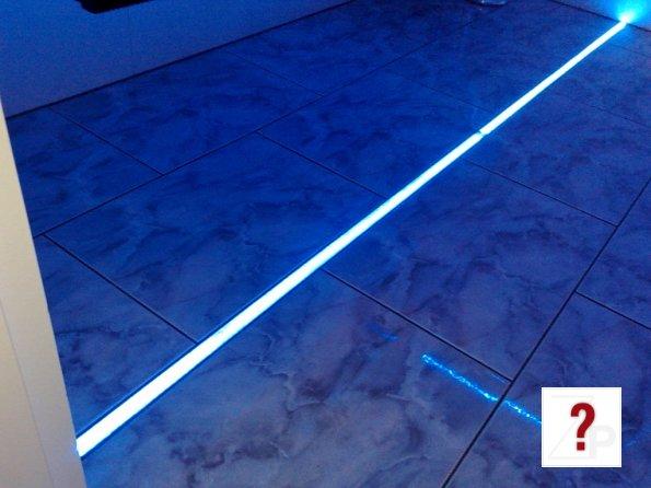 Fußboden Beleuchtung Bad ~ Highlight led stylische badezimmer fußboden beleuchtung